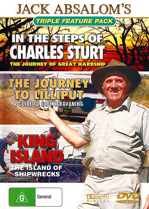 Jack Absaloms Australias Outback Journey - In The Steps Of Charles Sturt